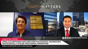 Sheila Kloefkorn, CEO of KEO Marketing, was interviewed on the Mission Matters Marketing Podcast.