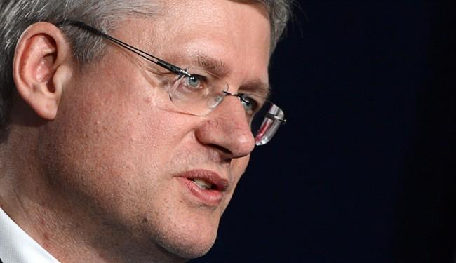 Stephen Harper takes to Twitter to lay out the government's agenda ahead of throne speech
