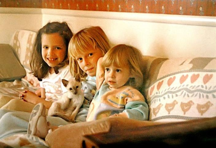 From left, Polly Klaas, Jess Nichol and Annie Nichol. The abduction and murder of Polly Klaas in 1993 was the impetus for a rash of harsh sentencing laws. (Courtesy of Jess Nichol and Annie Nichol)