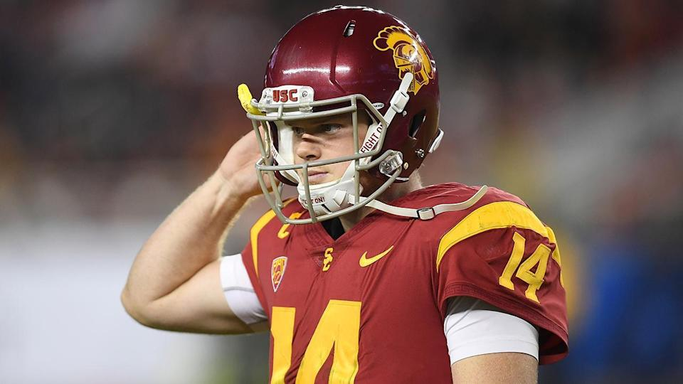 Trojans quarterback Sam Darnold has a laundry list of flaws.