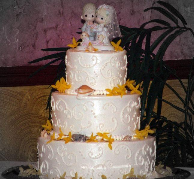 "<p>More than 2 million wedding cakes included <a href=""http://www.countryliving.com/shopping/antiques/a36587/precious-moments-facts/"" rel=""nofollow noopener"" target=""_blank"" data-ylk=""slk:Precious Moments"" class=""link rapid-noclick-resp"">Precious Moments</a> bride and groom wedding toppers, the <a href=""http://articles.chicagotribune.com/1998-05-22/news/9805220243_1_precious-moments-eugene-freedman-sam-butcher"" rel=""nofollow noopener"" target=""_blank"" data-ylk=""slk:Chicago Tribune"" class=""link rapid-noclick-resp""><em>Chicago Tribune</em></a> reported.</p>"