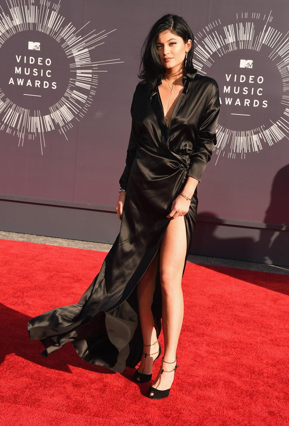 The Kardashian-Jenner family made a big splash at the awards show in 2014. Kylie attended with her sisters in red carpet mainstay, Alexandre Vauthier.