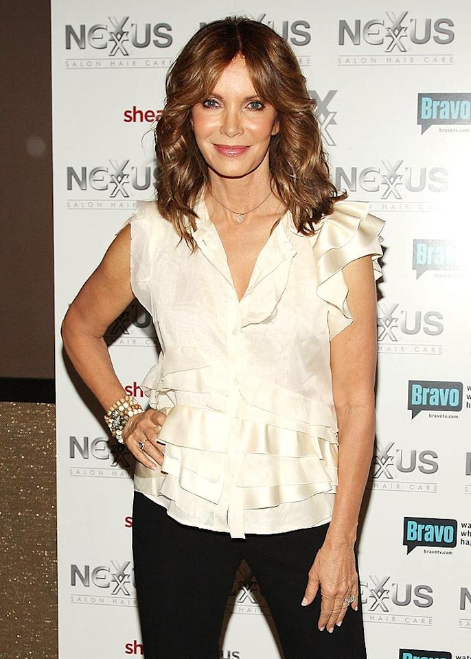 """Jaclyn Smith and her """"Charlie's Angels"""" co-star Kate Jackson were both diagnosed with the illness. Today, a portion of the sales from Smith's clothing and upholstery line goes to breast cancer research. Stephen Lovekin/<a href=""""http://www.gettyimages.com/"""" target=""""new"""">GettyImages.com</a> - August 27, 2009"""