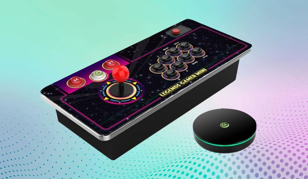The Atgames Legends Gamer Mini delivers a lot of arcade POW-POW and PEW-PEW for just $71. (Photo: Atgames)