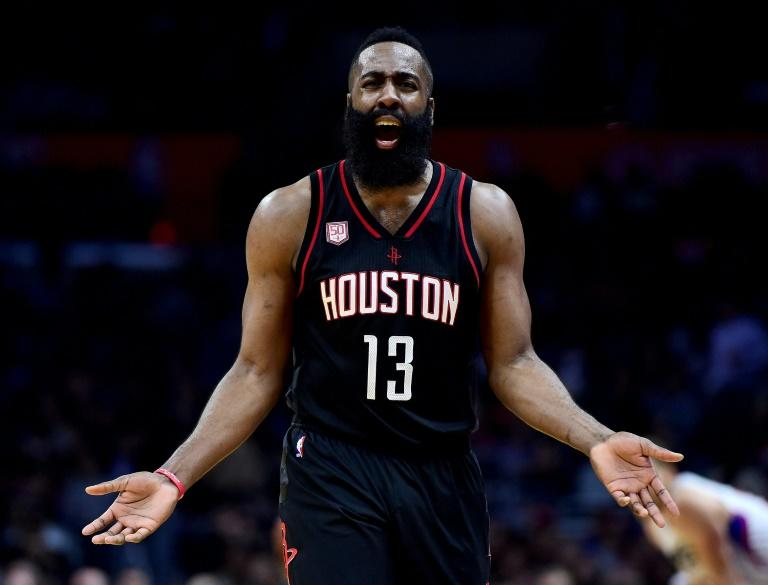 James Harden (pictured) exploded for 38 points as the Houston Rockets jolted LeBron James and the Cleveland Cavaliers with a 117-112 victory, at Toyota Center in Houston, Texas, on March 12, 2017