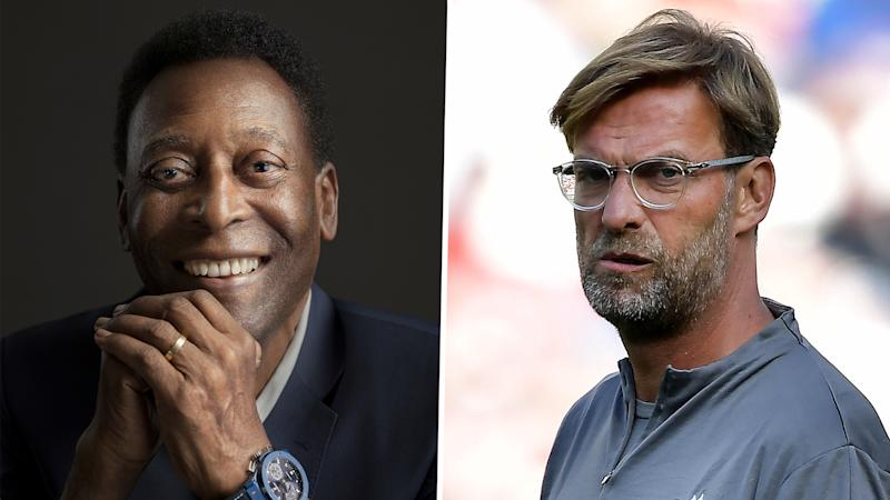 Pele gives Liverpool 'kiss of death' by backing them to win Premier League