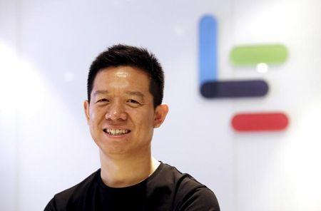 Jia Yueting co-founder and head of Le Holdings Co Ltd poses for