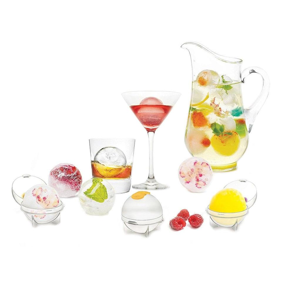 <p>The <span>Fruit Infusing Ice Balls - Set of 4</span> ($10) is perfect for the spring time cocktails.</p>