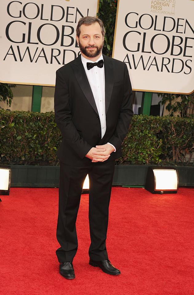 Judd Apatow arrives at the 69th Annual Golden Globe Awards in Beverly Hills, California, on January 15.
