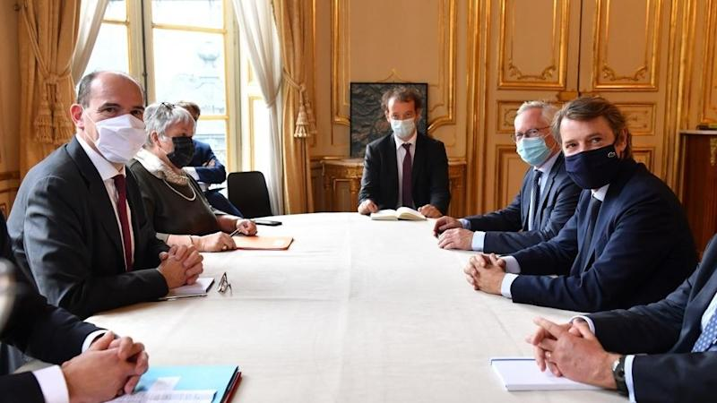 'No new covid restrictions' says French PM after meetings with big city mayors