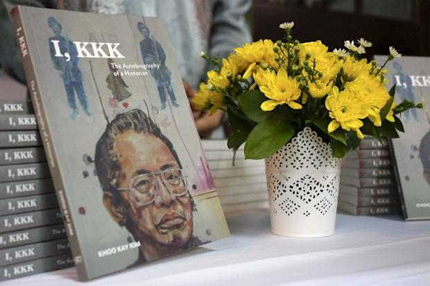 Tan Sri Khoo Kay Kim's book 'I, KKK: The Autobiography of a Historian'.