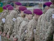 """While women have been serving the British Armed Forces for many decades now, the ban on ground close combat was first lifted by the then Prime Minister David Cameron in November 2016. Women were allowed into the Royal Armoured Corps from November 2016 and the Royal Air Force Regiment from September 2017. In October 2018, the Government lifted the final barrier when it allowed women to apply for all military roles in the armed forces, including areas that were restricted till now, such as the Royal Marines and frontline infantry units. <em><strong>Image credit</strong></em><strong>: </strong><a href=""""https://twitter.com/BritishArmy/status/1230079289481187329/photo/1"""" class=""""link rapid-noclick-resp"""" rel=""""nofollow noopener"""" target=""""_blank"""" data-ylk=""""slk:Twitter/British Army""""><strong>Twitter/British Army</strong></a>"""