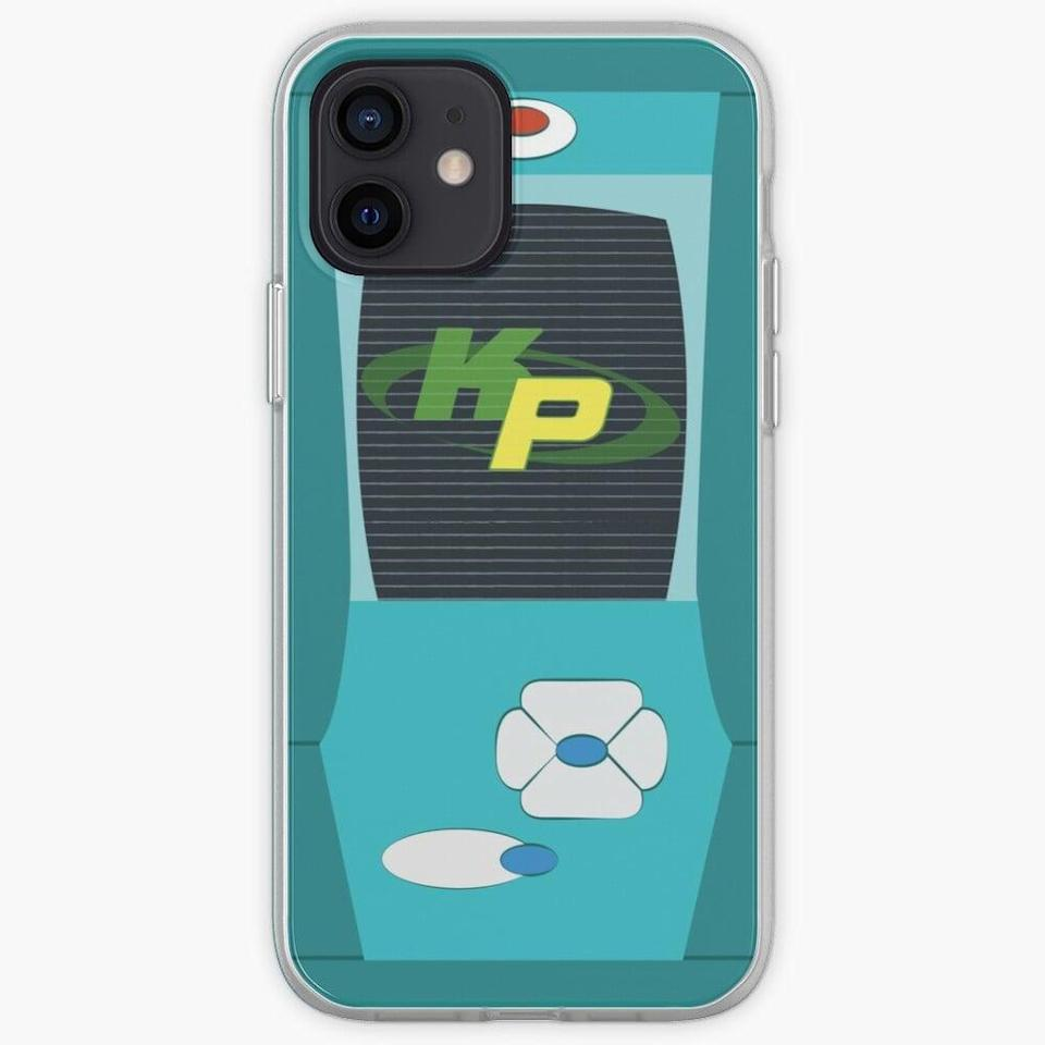 """<p>With the <span>Kim Possible Cosplay Case</span> ($27), all you have to do is """"call me, beep me, if you want to reach me.""""</p>"""