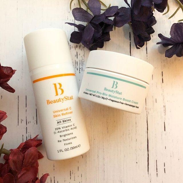 """<p>Developed by cosmetic chemist Ron Robinson, Beautystat's tightly-edited line of skincare products is a favorite among beauty editors (hi, me) and dermatologists alike. There are two <a href=""""https://www.cosmopolitan.com/style-beauty/beauty/g12091058/best-vitamin-c-serum-face-skin/"""" rel=""""nofollow noopener"""" target=""""_blank"""" data-ylk=""""slk:vitamin C"""" class=""""link rapid-noclick-resp"""">vitamin C</a> serums (one for your entire face, and one for just the eye area) plus a lightweight moisturizing cream—all of which are clinically-tested for efficacy.</p><p><strong>✨ Must-try product:</strong> <a href=""""https://www.amazon.com/BeautyStat-Universal-Refiner-L-Ascorbic-Fragrance/dp/B084WVW4HS?tag=syn-yahoo-20&ascsubtag=%5Bartid%7C10049.g.33970294%5Bsrc%7Cyahoo-us"""" rel=""""nofollow noopener"""" target=""""_blank"""" data-ylk=""""slk:Universal C Skin Refiner"""" class=""""link rapid-noclick-resp"""">Universal C Skin Refiner</a></p><p><a href=""""https://www.instagram.com/p/B5OJmwlHIQf/?utm_source=ig_embed&utm_campaign=loading"""" rel=""""nofollow noopener"""" target=""""_blank"""" data-ylk=""""slk:See the original post on Instagram"""" class=""""link rapid-noclick-resp"""">See the original post on Instagram</a></p>"""
