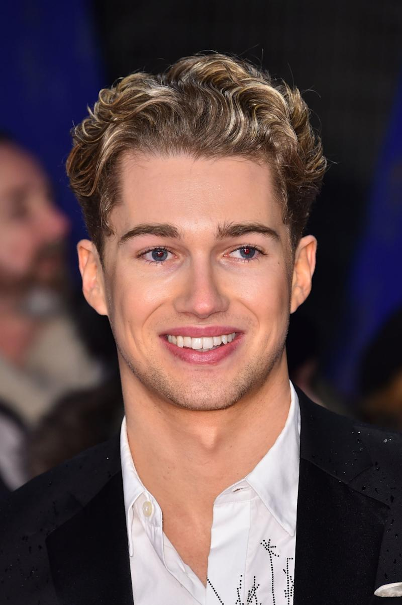 Strictly Come Dancing star AJ Pritchard defended his brother Curtis after his break-up with Amy. (PA)