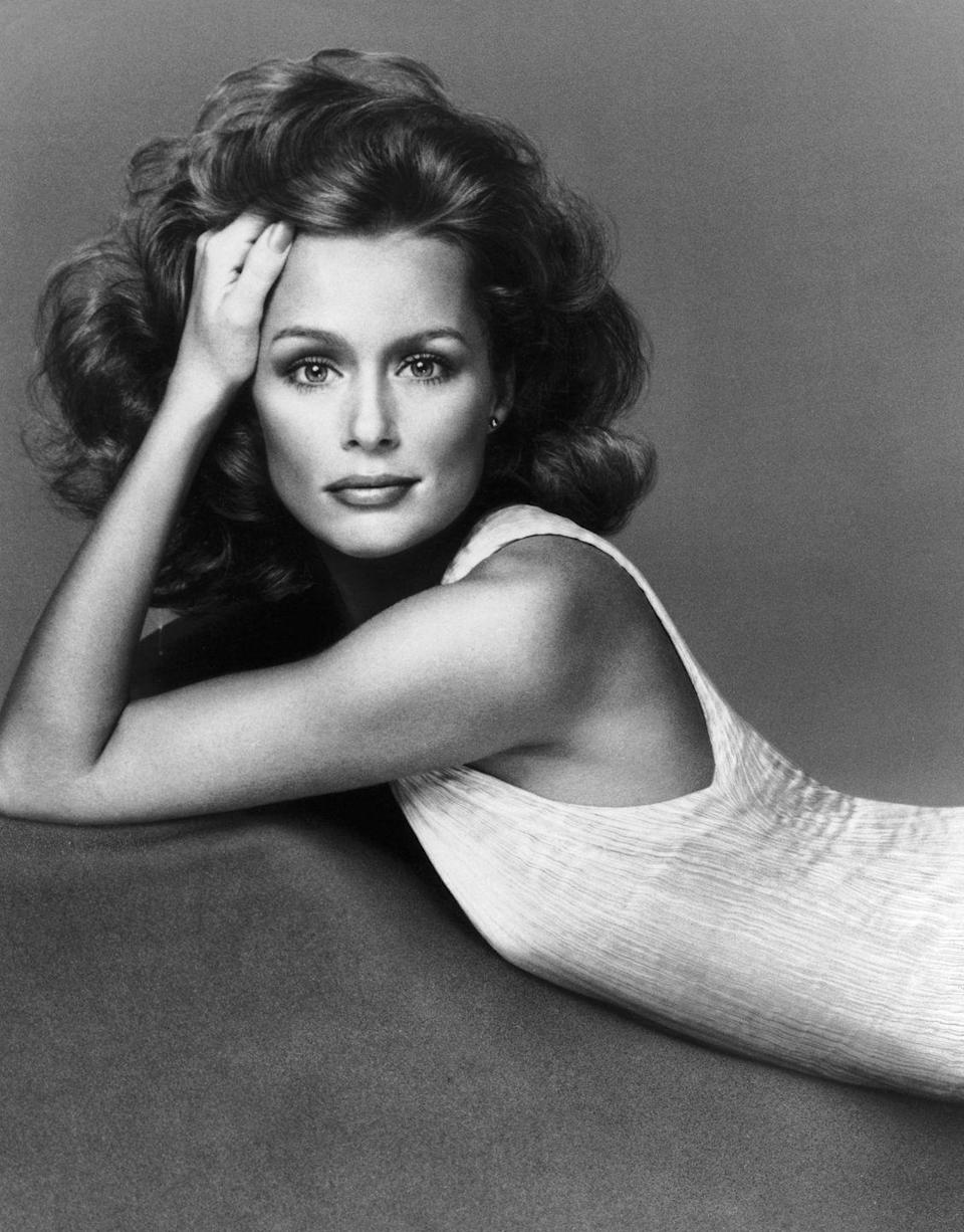 """<p>As one of the decade's most recognized models, Lauren Hutton's glamorous waves inspired many women to try <a href=""""https://www.goodhousekeeping.com/beauty/hair/g3014/how-to-get-beach-waves-hair/"""" rel=""""nofollow noopener"""" target=""""_blank"""" data-ylk=""""slk:flowing, loose locks"""" class=""""link rapid-noclick-resp"""">flowing, loose locks</a>. </p>"""