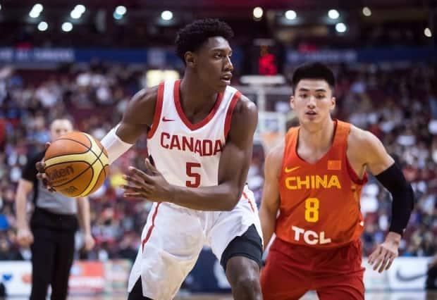 R.J. Barrett is among the next wave of Canadian basketball talent, but more could be coming in droves as the country's development system continues to grow. (Darryl Dyck/The Canadian Press - image credit)
