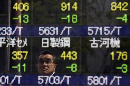 Asian equities slipped in morning trade