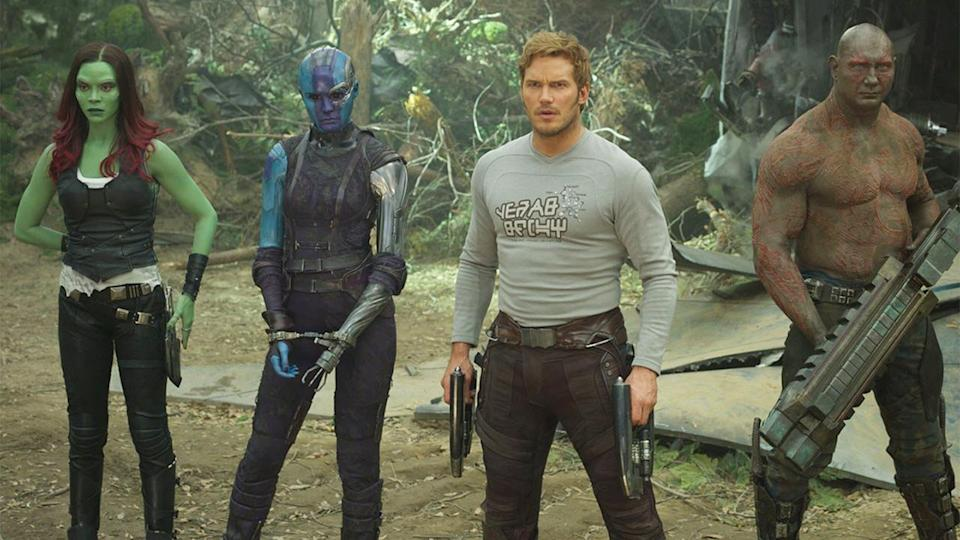 <p> Oh look, another sequel! Guardians of the Galaxy Vol. 2 is a good but not great time. It takes the formula laid out by the original, straps boosters to it, cranks up the stereo to full, and goes full throttle for over two hours. Unfortunately, though, where the original Guardians of the Galaxy was a surprise hit – a Marvel movie so different and refreshing – that set the bar impossibly high for the sequel. Jokes aren't quite as fresh second time around. You also feel like you've seen the new worlds before, and the individual character arcs feel repetitive. None of the character beats work quite as well, and Chris Pratt's Star Lord lacks a certain something this time around. </p>
