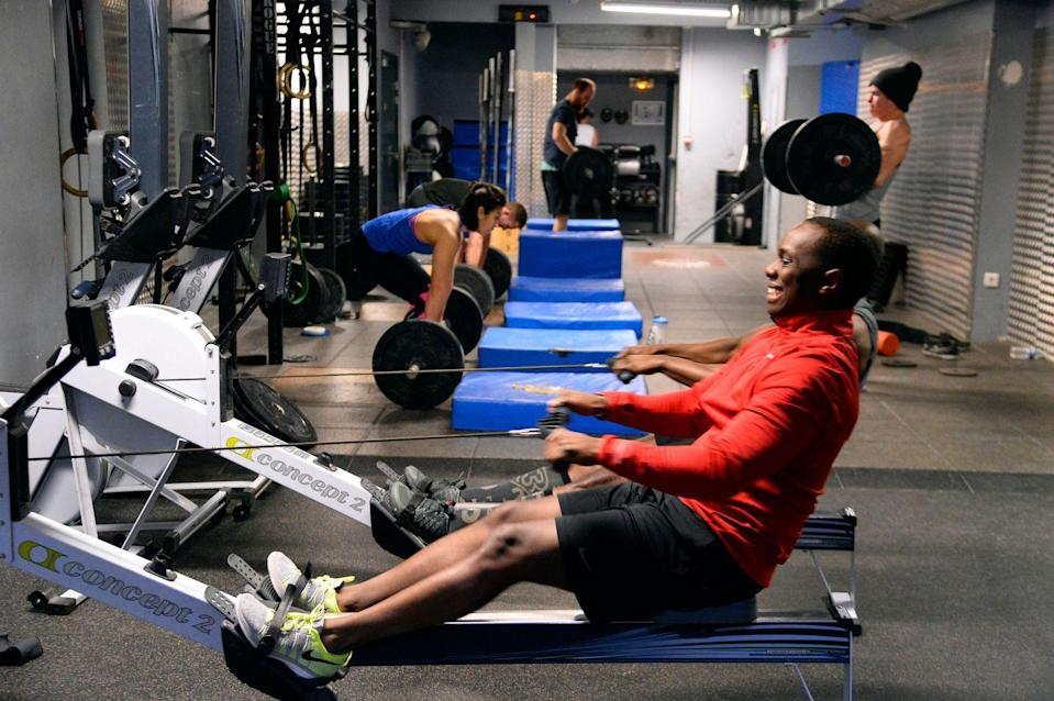 """<p>What makes the CrossFit Games so unique is that the events in the competition aren't announced beforehand. Competitors know that past events have included everything from <a href=""""https://games.crossfit.com/about-the-games"""" rel=""""nofollow noopener"""" target=""""_blank"""" data-ylk=""""slk:distance swims to rope climbs"""" class=""""link rapid-noclick-resp"""">distance swims to rope climbs</a>, but they essentially train for the unknown.</p>"""