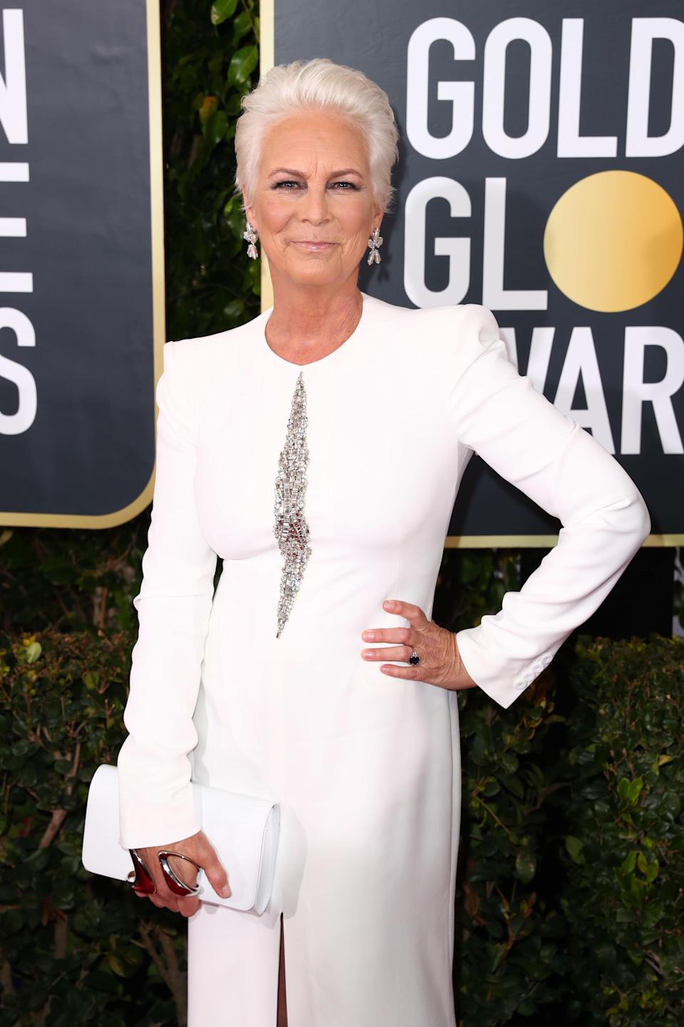 "<p>Back in 2002, actress Jamie Lee Curtis claimed that she's had ""it all done"". ""I've had a little plastic surgery. I've had a little lipo. I've had a little botox. And you know what? None of it works. None of it,"" she <a href=""https://www.telegraph.co.uk/news/worldnews/northamerica/usa/1405016/Nips-tucks-and-liposuction-dont-work-Ive-still-got-bad-thighs-and-a-fat-tummy.html"" rel=""nofollow noopener"" target=""_blank"" data-ylk=""slk:revealed"" class=""link rapid-noclick-resp"">revealed</a>. <em>[Photo: Getty]</em> </p>"