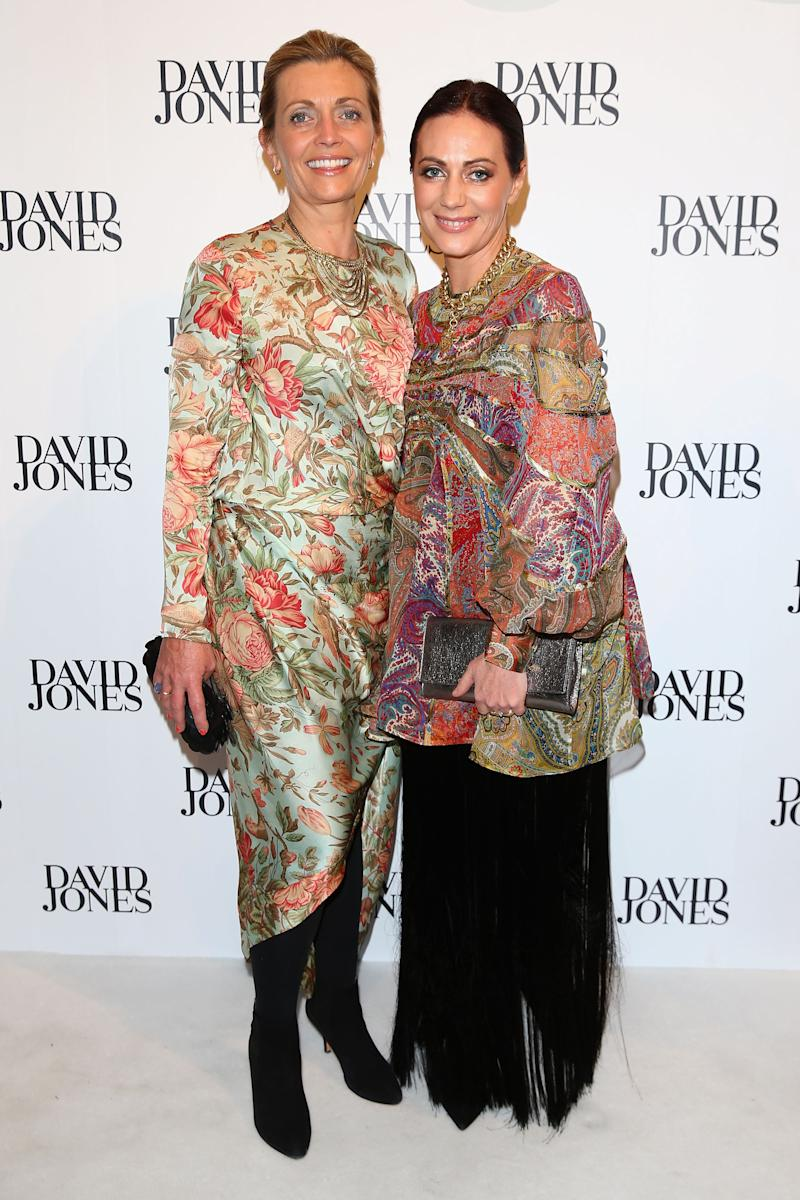 Zimmermann co-founders Simone and Nicky Zimmermann. (Image via Getty Images)