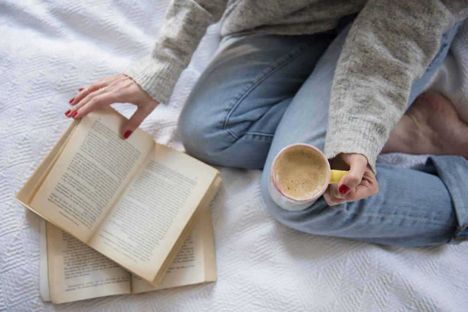 These 12 feel-good reads are great for chilly, dreary days.