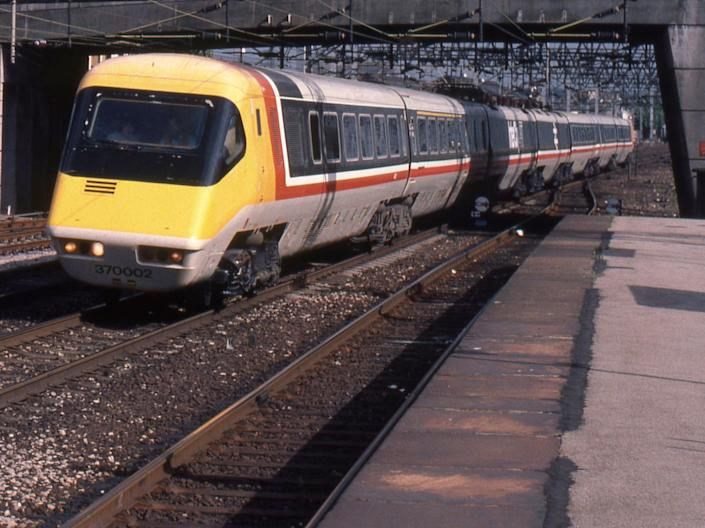 Fast track: Advanced Passenger Train, which has held the London-Glasgow speed record since 1984 (Chris Milner)