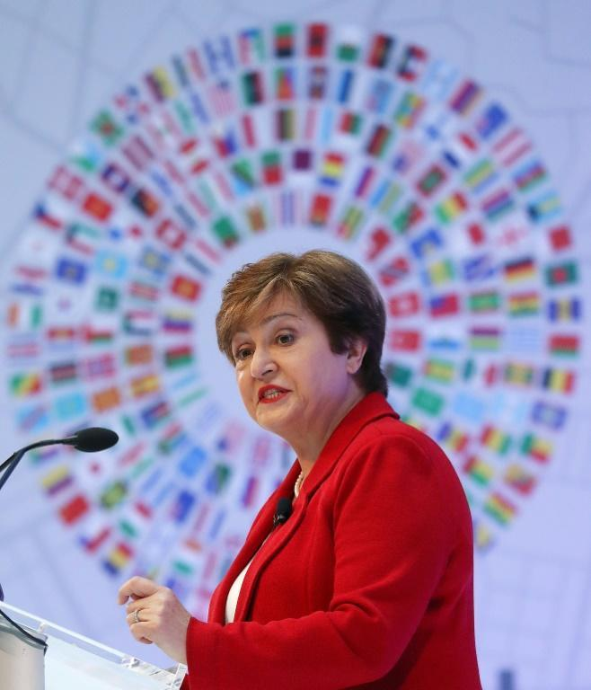 IMF Managing Director Kristalina Georgieva said African nations must balance the need to finance development with their ability to pay off debts (AFP Photo/MARK WILSON)