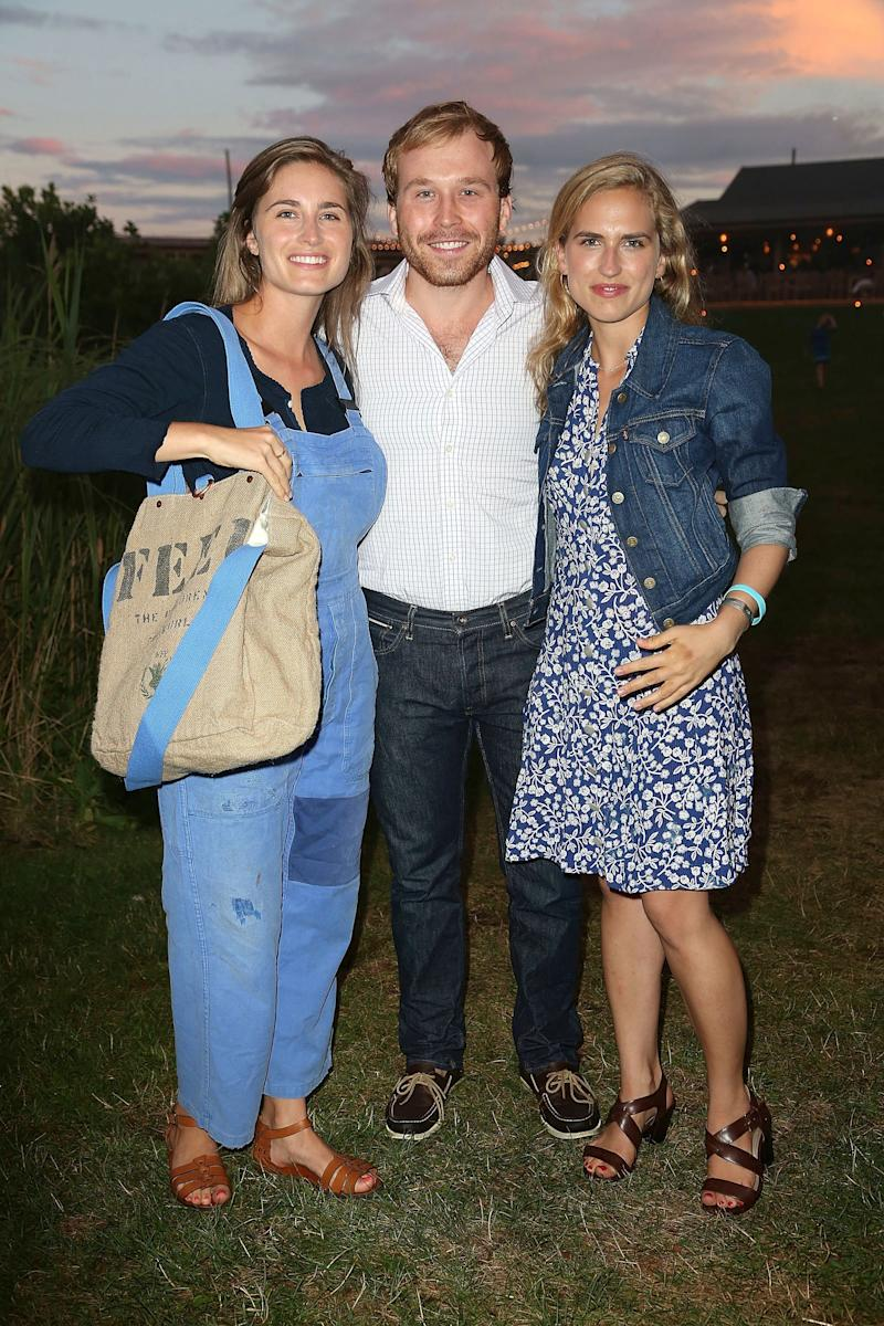 Lauren Bush Lauren, Pierce Bush and Ashley Bush attend The Hollywood Reporter & Samsung with The Cinema Society screening of A24's 'The Spectacular Now' at The Crow's Nest on July 26, 2013 in Montauk, New York. (Photo by Sonia Moskowitz/Getty Images) Son of Neil Bush & Sharon Smith (Bush's first wife)