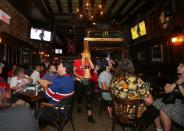 Montreal Canadiens hockey fans watch the second away game of the Stanley Cup Finals