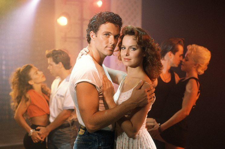 Patrick Cassidy as Johnny Castle and Melora Hardin as Frances 'Baby' Kellerman in CBS's Dirty Dancing. (Photo: CBS)
