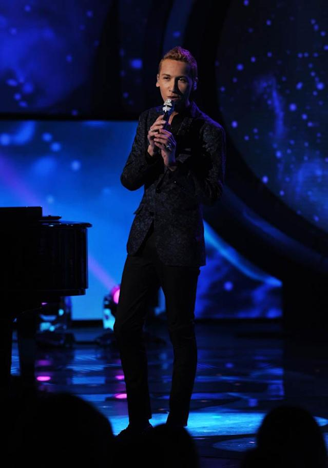 "Devin Velez performs Carrie Underwood's ""Temporary Home"" on the Wednesday, March 13 episode of ""American Idol."""