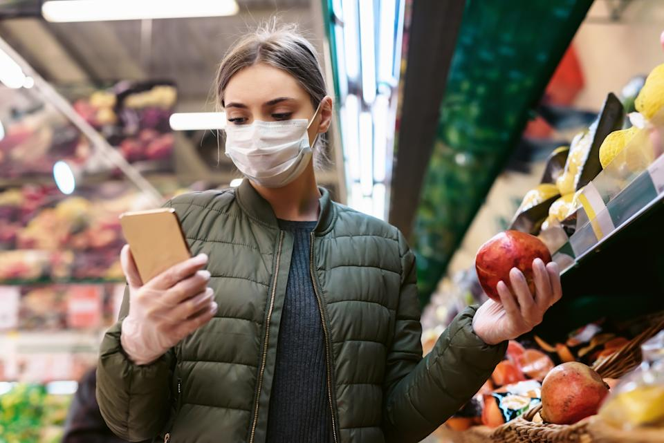 Government-provided nutrition benefits management smartphone app, Fresh EBT saw a 152% usage increase during the first year of the pandemic reflecting the financial hardship experienced by millions of people, according to data from Global Wireless Solutions made exclusive to Yahoo Money. (Photo: Getty)