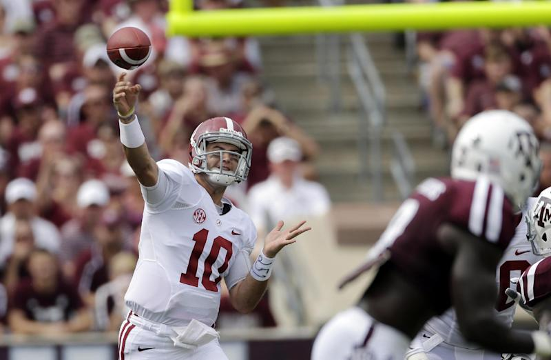 NFL DRAFT: Big name QBs finally hear names