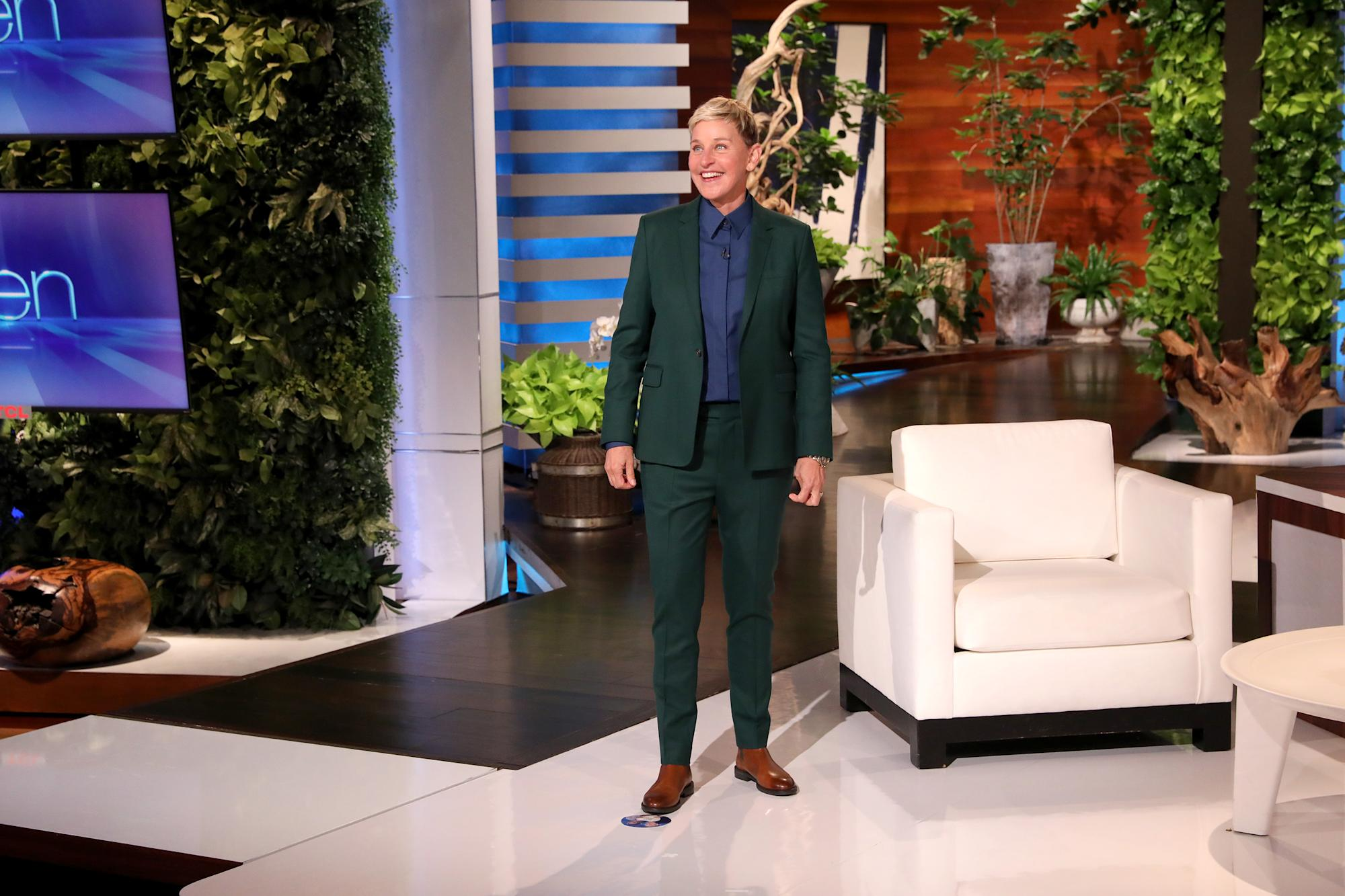 Ellen DeGeneres says the toxic workplace scandal felt 'coordinated' and 'very misogynistic'