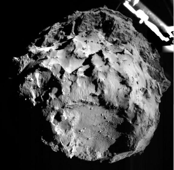 European Probe Survived Comet Landing with Luck and Great Design