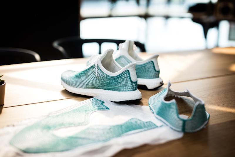 Parley and adidas joined forces to seek alternatives to plastic for their co-branded sneakers.