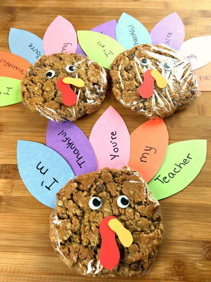"<p>Thanksgiving is the perfect time for your tots to say ""thank you"" to their teacher—and these adorable <a href=""http://www.countryliving.com/food-drinks/g3725/best-fall-cookies/"" rel=""nofollow noopener"" target=""_blank"" data-ylk=""slk:cookies"" class=""link rapid-noclick-resp"">cookies</a> are just the thing to show their gratitude.</p><p><strong>Get the tutorial at <a href=""https://www.aturtleslifeforme.com/turkey-cookies-thanksgiving/"" rel=""nofollow noopener"" target=""_blank"" data-ylk=""slk:A Turtle's Life for Me"" class=""link rapid-noclick-resp"">A Turtle's Life for Me</a>.</strong></p><p><a class=""link rapid-noclick-resp"" href=""https://www.amazon.com/SunWorks-Construction-9-Inches-12-Inches-100-Count/dp/B0017OJKLI/?tag=syn-yahoo-20&ascsubtag=%5Bartid%7C10050.g.22626432%5Bsrc%7Cyahoo-us"" rel=""nofollow noopener"" target=""_blank"" data-ylk=""slk:SHOP CONSTRUCTION PAPER"">SHOP CONSTRUCTION PAPER</a></p>"