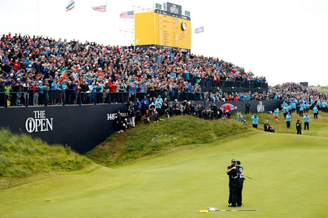 "<div class=""caption""> The emotional impact of Lowry's Open win at Royal Portrush, for him and Ireland, is still strong. </div> <cite class=""credit"">Luke Walker/Getty Images</cite>"