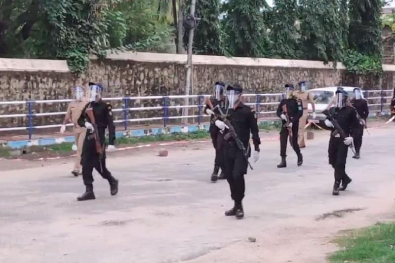Super Spreading of Covid-19 Detected in Poonthura Area of Kerala Capital, Commandos Deployed