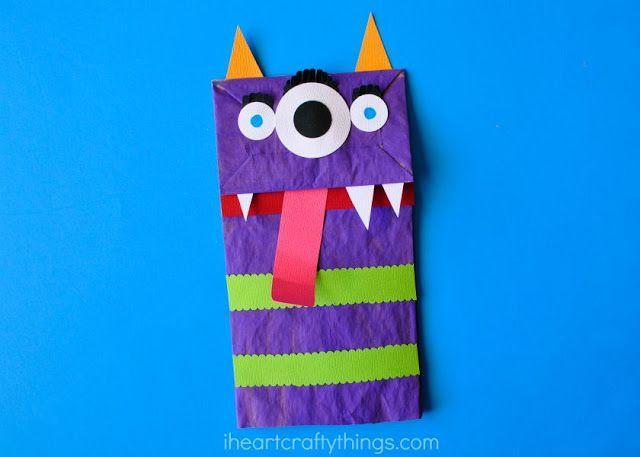 "<p>Fill your house with monsters — the good kind, obviously — this Halloween by making these colorful creatures out of paper bags and cut-outs. </p><p><em><a href=""https://iheartcraftythings.com/paper-bag-monster-puppets.html"" rel=""nofollow noopener"" target=""_blank"" data-ylk=""slk:Get the tutorial at I Heart Crafty Things »"" class=""link rapid-noclick-resp"">Get the tutorial at I Heart Crafty Things »</a></em> </p>"