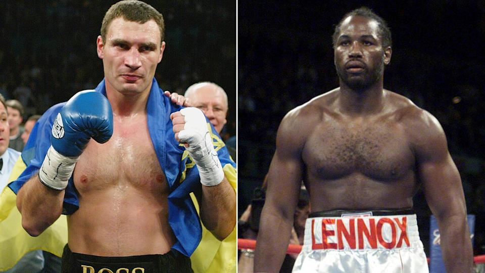Lennox Lewis is set to renew a rivalry with an old foe.