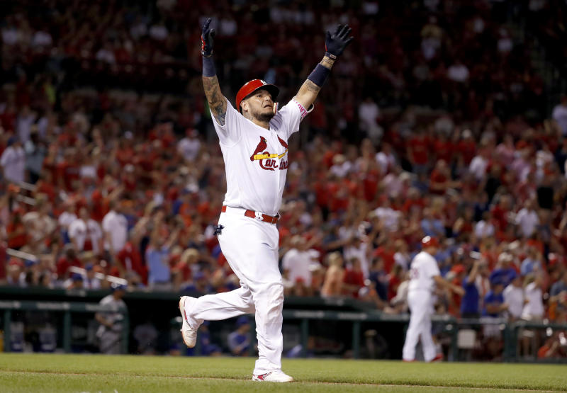 'Three more years. That's it,' Yadier Molina says