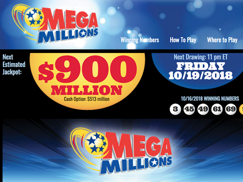 The next Mega Millions jackpot is estimated to be at $900 million: Mega Millions Jackpot screenshot