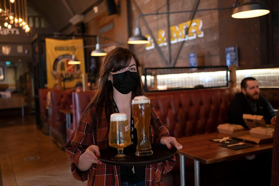 <p>Some pub groups are already offering work from pub deals </p> (AP)