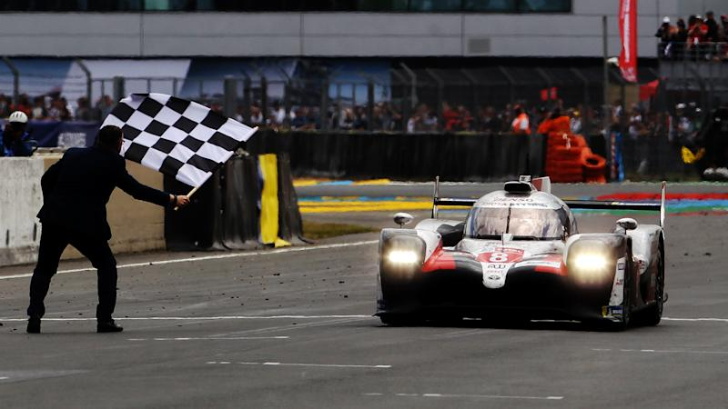 Le Mans glory for Toyota as Alonso joins Buemi and Nakajima in scoring repeat triumph