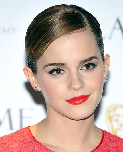 Celebrity hair: Emma Watson's curly locks that were synonymous with her 'Harry Potter' character, Hermione, have been tamed into a pixie crop. While she's got less hair to manage, it's still a costly affair. The man responsible for her short 'do, Rodney Cutler charges £300 for highlights and a cut.