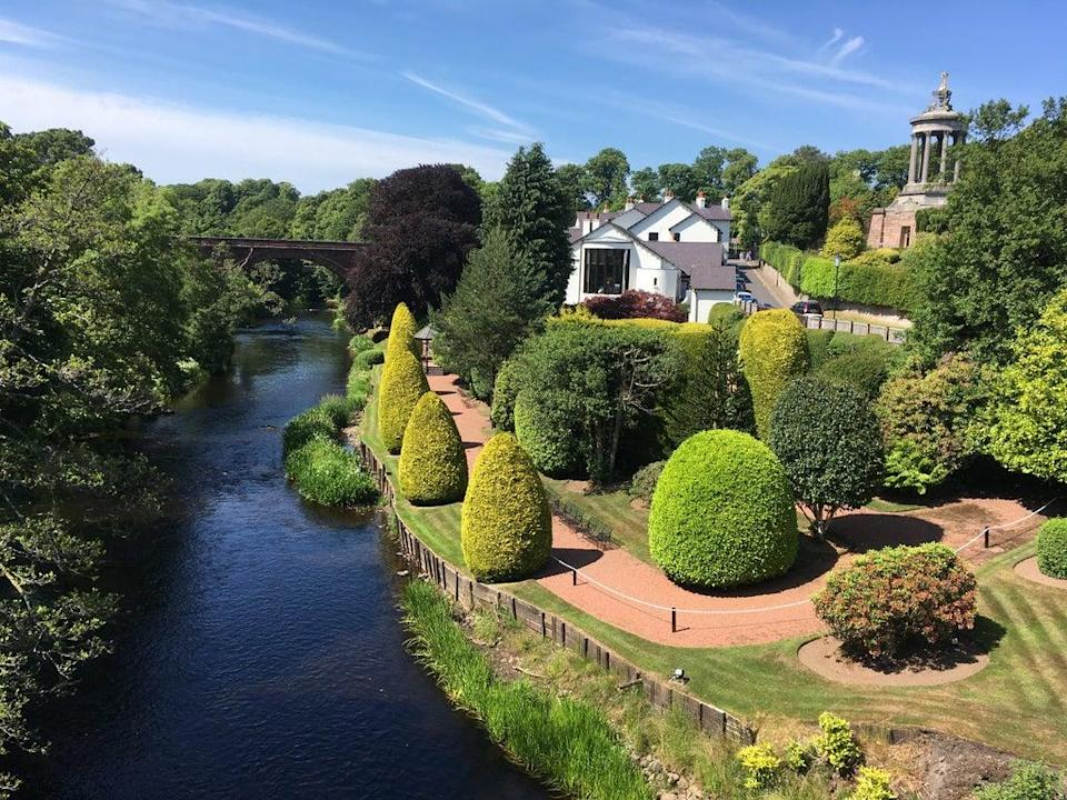 The view from the Brig o' Doon (Rachel Mills)