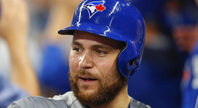 Russell Martin earned the nickname 'LE MUSCLE' after he bulked up this past off-season . (AP Photo/Todd Kirkland)